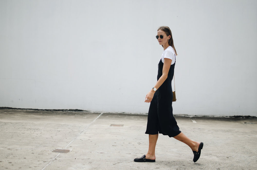 ootd - style - slip dress
