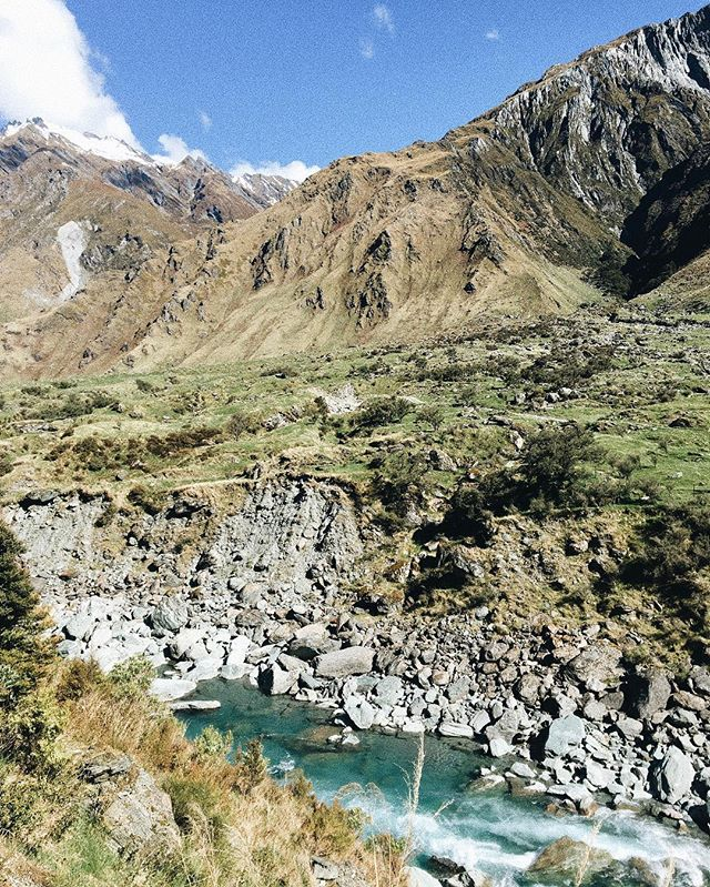 13km hike to Rob Roy Glacier 🌿🗻 24.10.2017