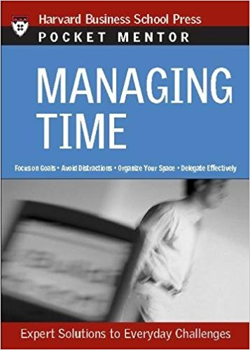 "Get Melissa Raffoni's Pocket Book ""Managing Time"" on Amazon."