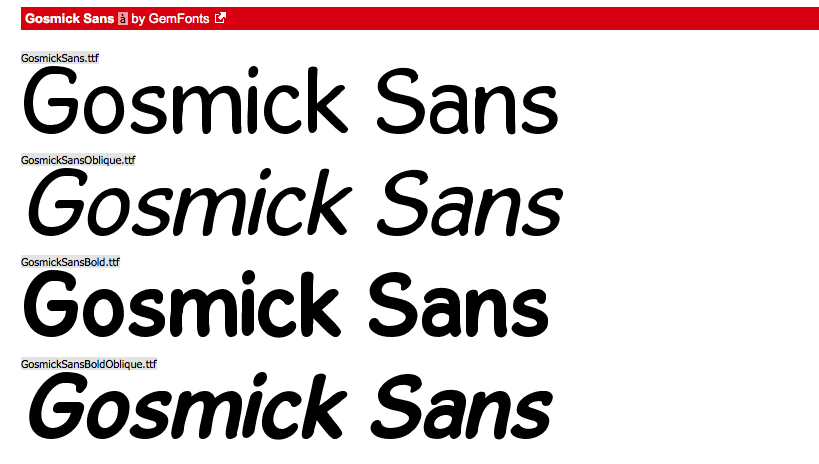 Gosmick sans is also a great alternative to comic sans. Its still fun and you could get awsay with using this for larger text areas.