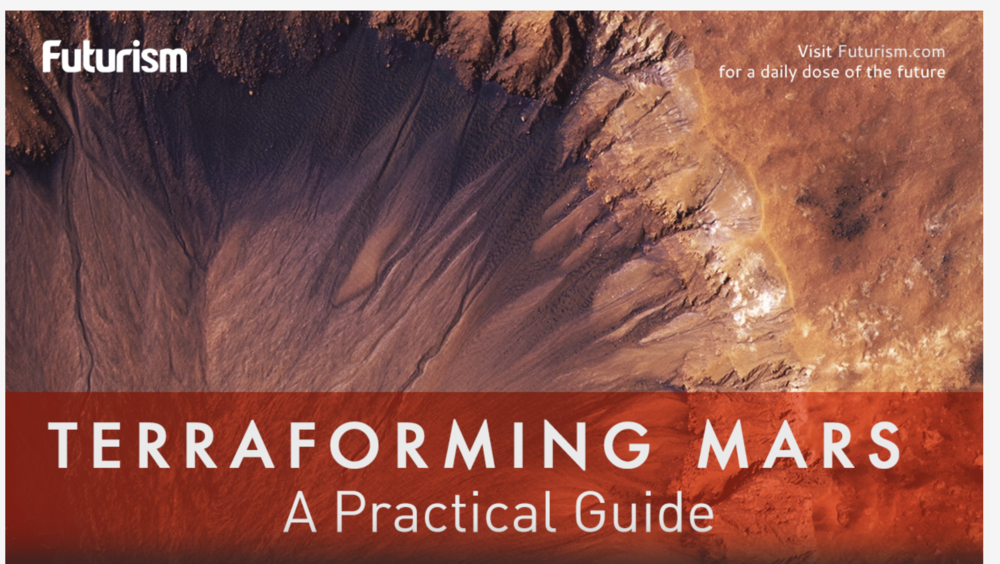 The To-Do list   - An intriguing step by step guide for colonizing Mars.