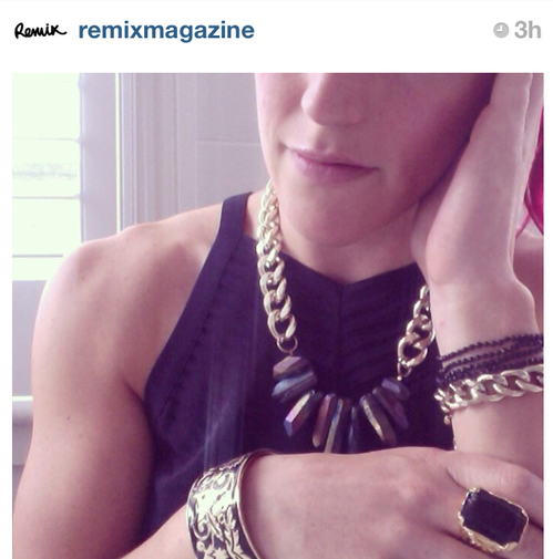 Remix Magazine Instagram, 2014