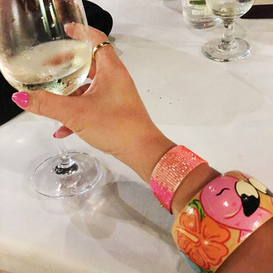 travel diary tropical holiday in fiji denarau flamingo bangle