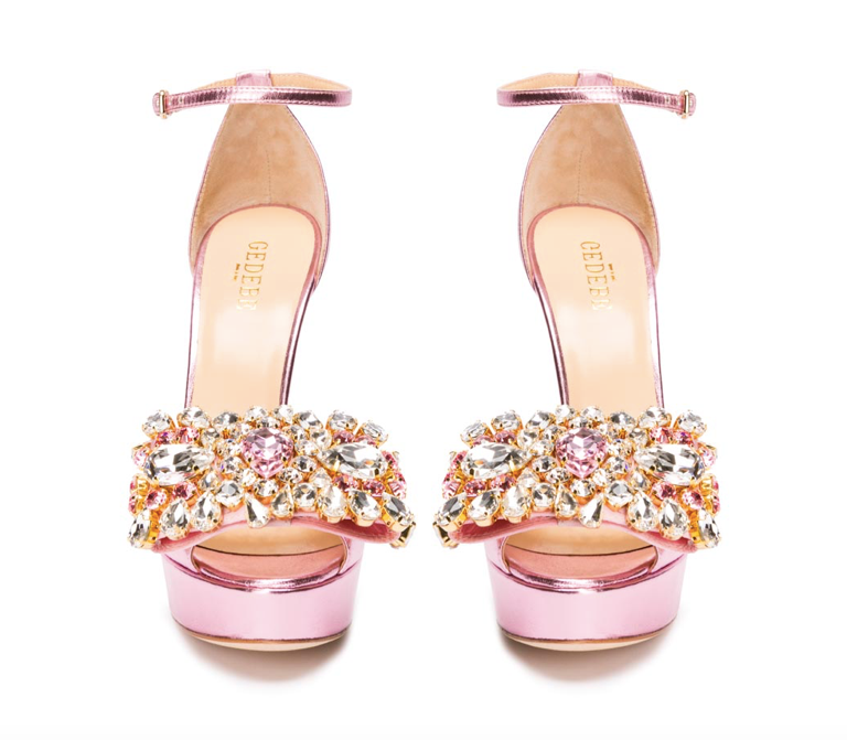 gedebe embellished court shoe