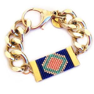 Sign II Shh by Sadie designer bracelet handmade in UK