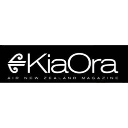 Air NZ Kia ora magazine Shh by Sadie designer crystal necklace