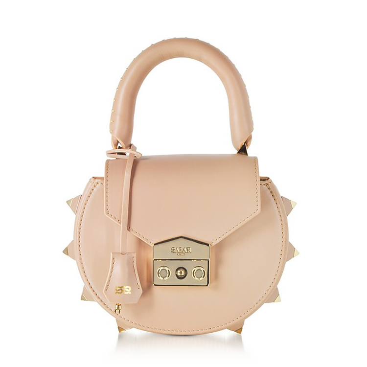 salar nude mimi leather Italian bags