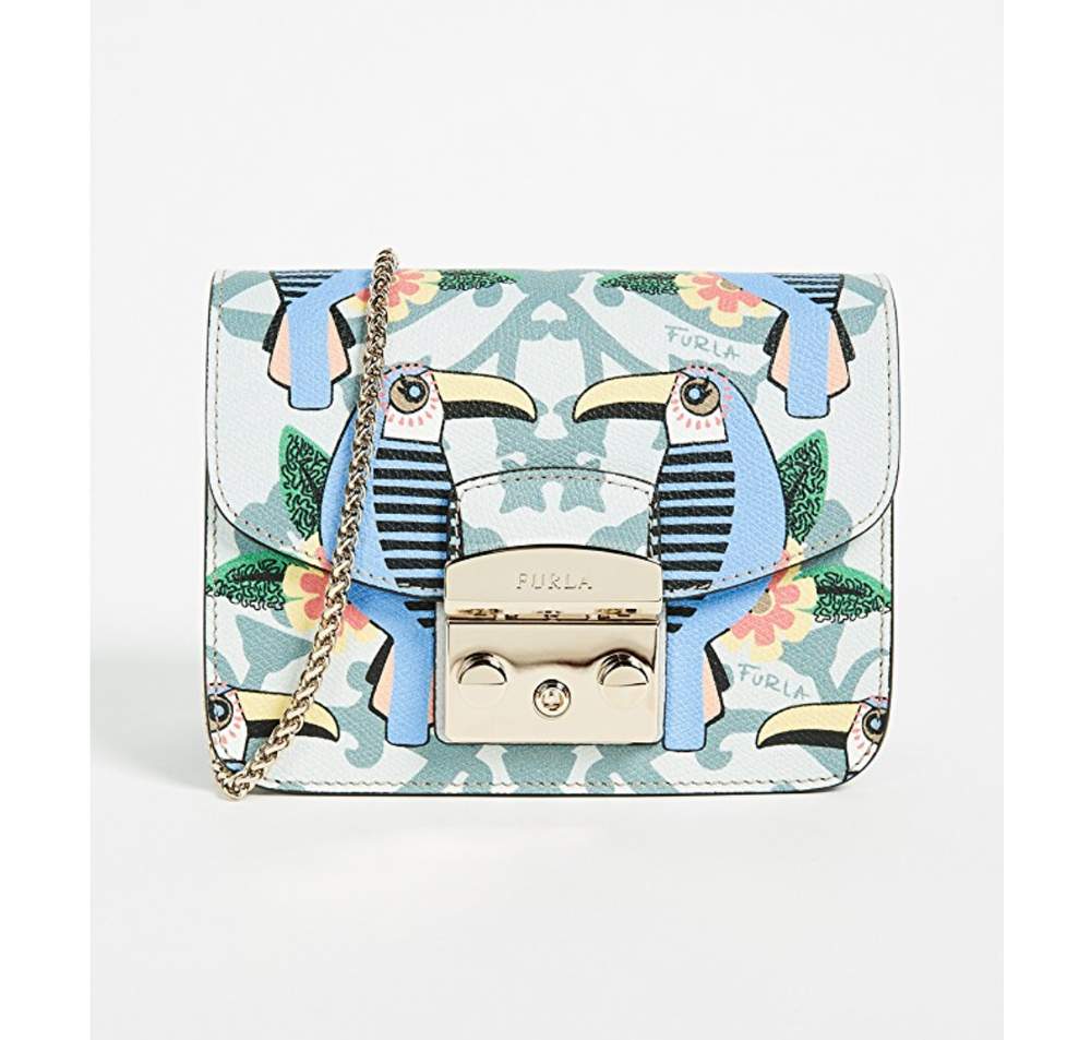 furla metropolis toucan mini bag