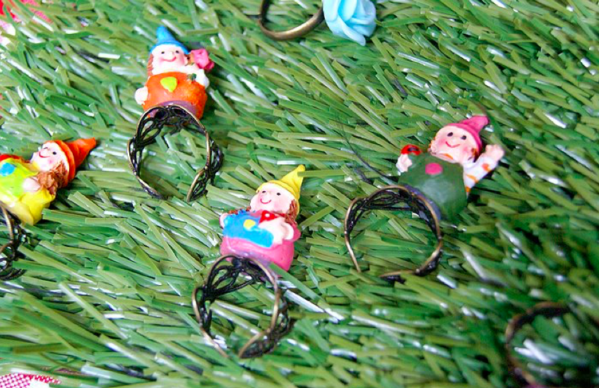 Gnome ring, anyone? Hmm.