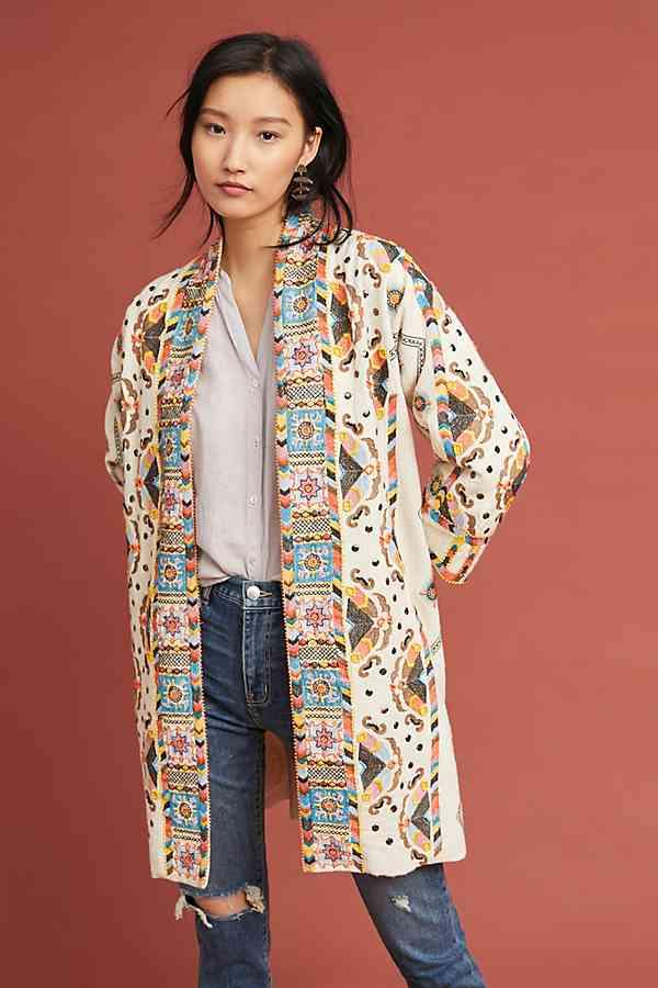 data anthropologie kimono