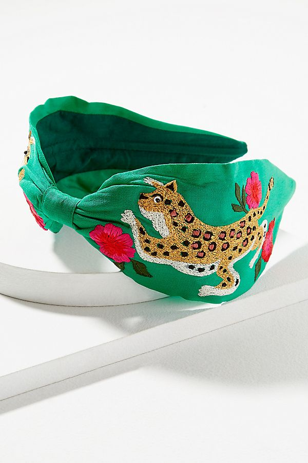 River Embroidered-Embellished Headband