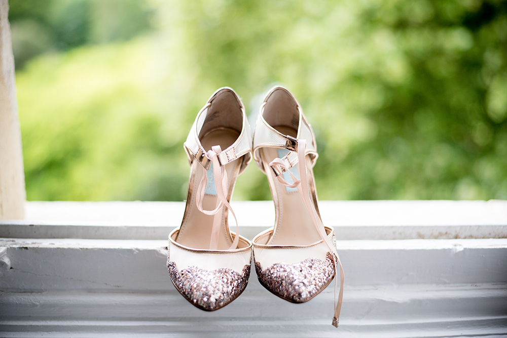 Betsey Johnson designer wedding shoes