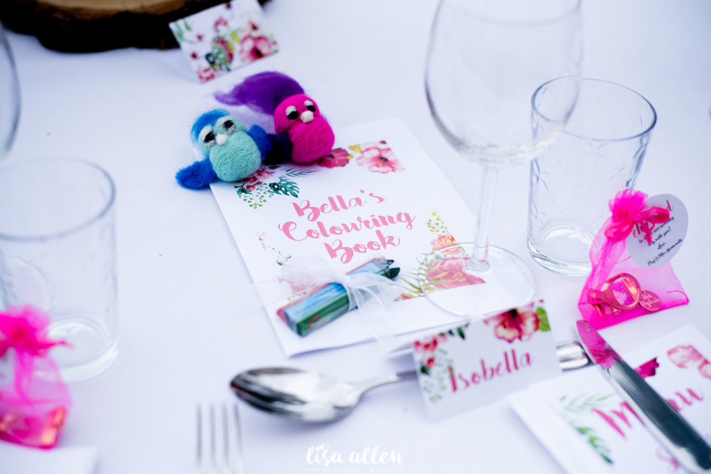 colourful wedding decor tropical French summer wedding