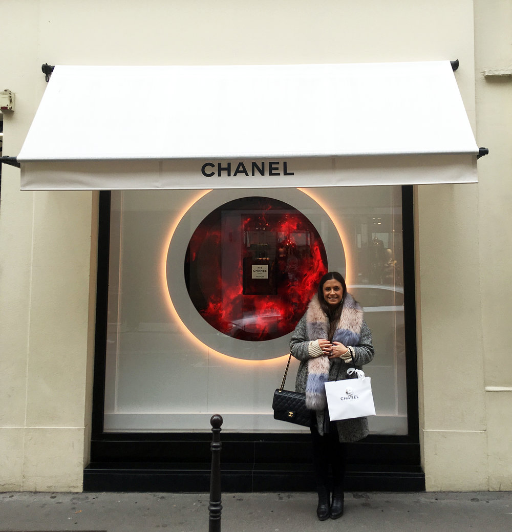 Chanel rue de carbon paris