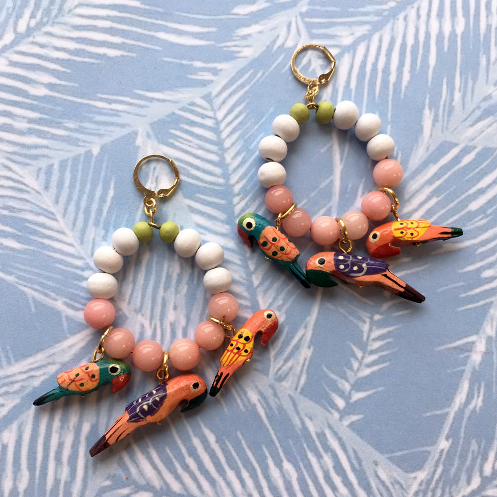 Parrot Charm Earrings.jpg