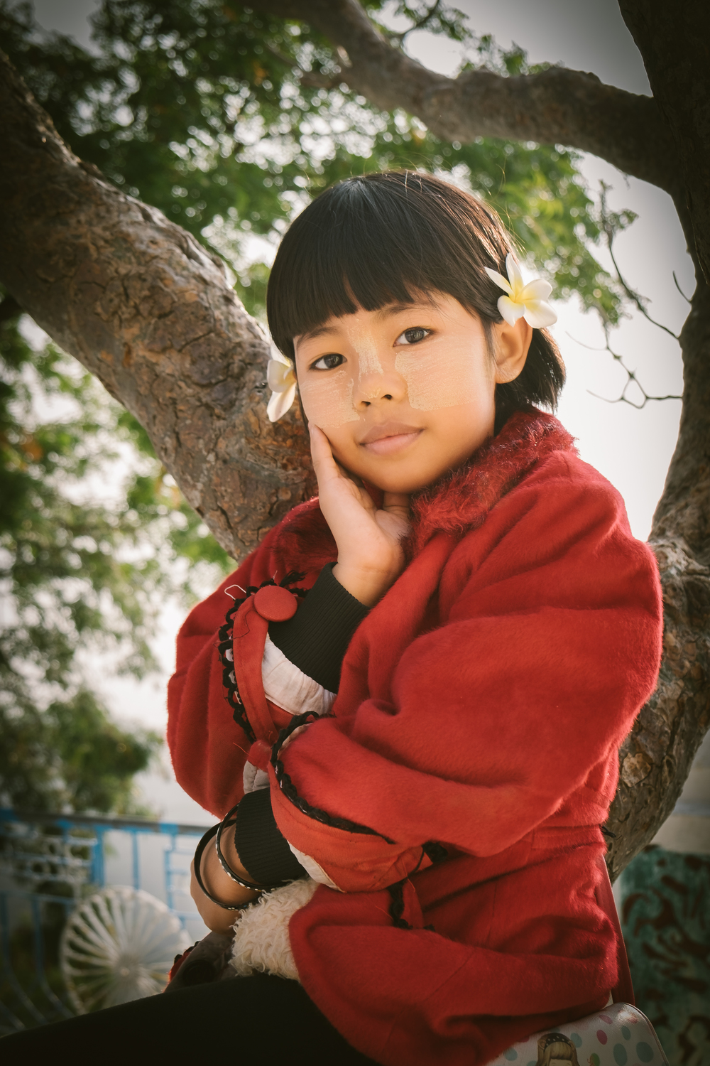 Young Myanmar lady
