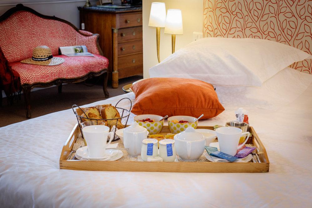Petit déjeuner hotel de charme