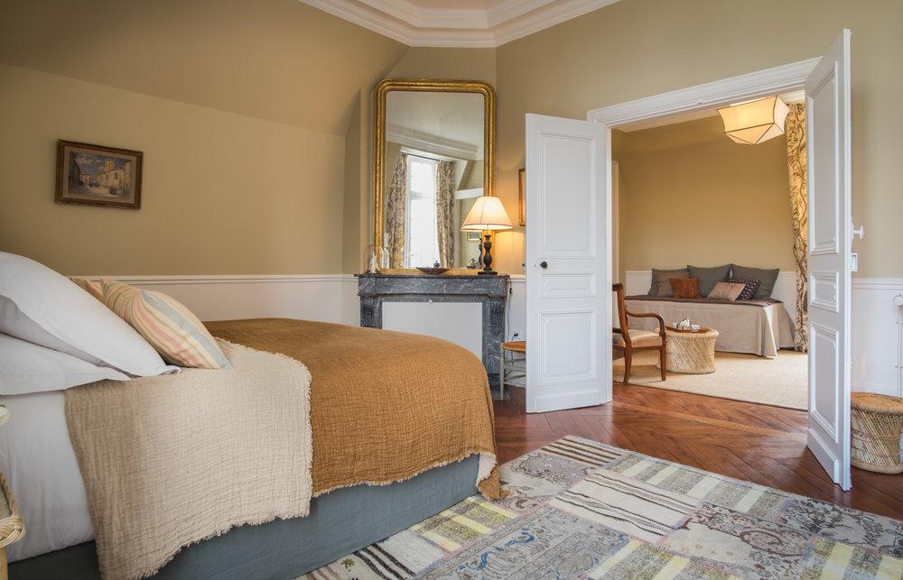 cosy room in beatiful castle