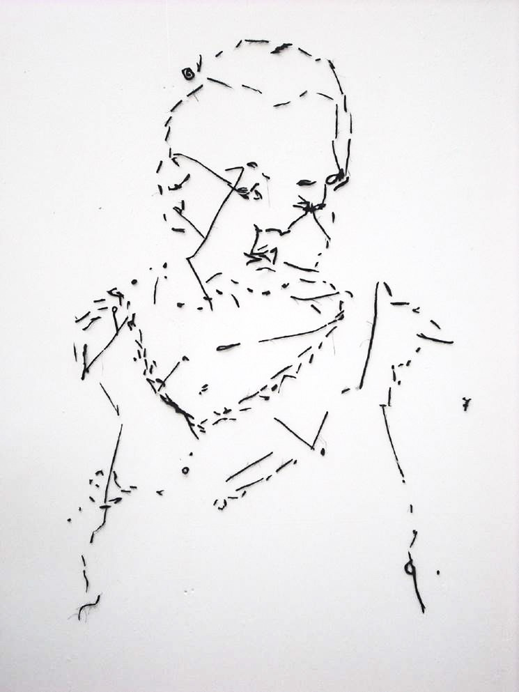 'Awake'  2010  100cm x 150cm Fabric wall drawing.jpg