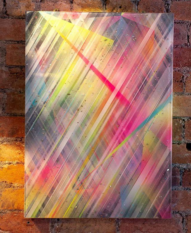 Dem multi dimensional bad boys.. Spray paint on wood and layered resin.  Dimension Hopping. ✨✨✨ #cheba #art #spraypaint #resin #graffiti #streetart #painting #multidimensional #✨ #contemporaryart #modernart #3d