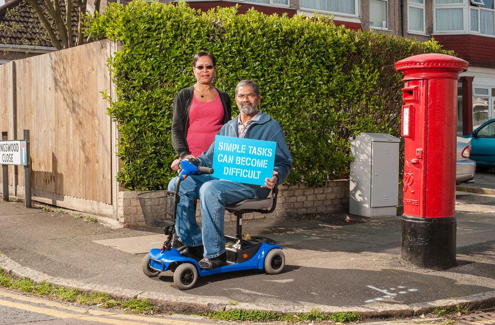 Parkinson's UK rebranding campaign