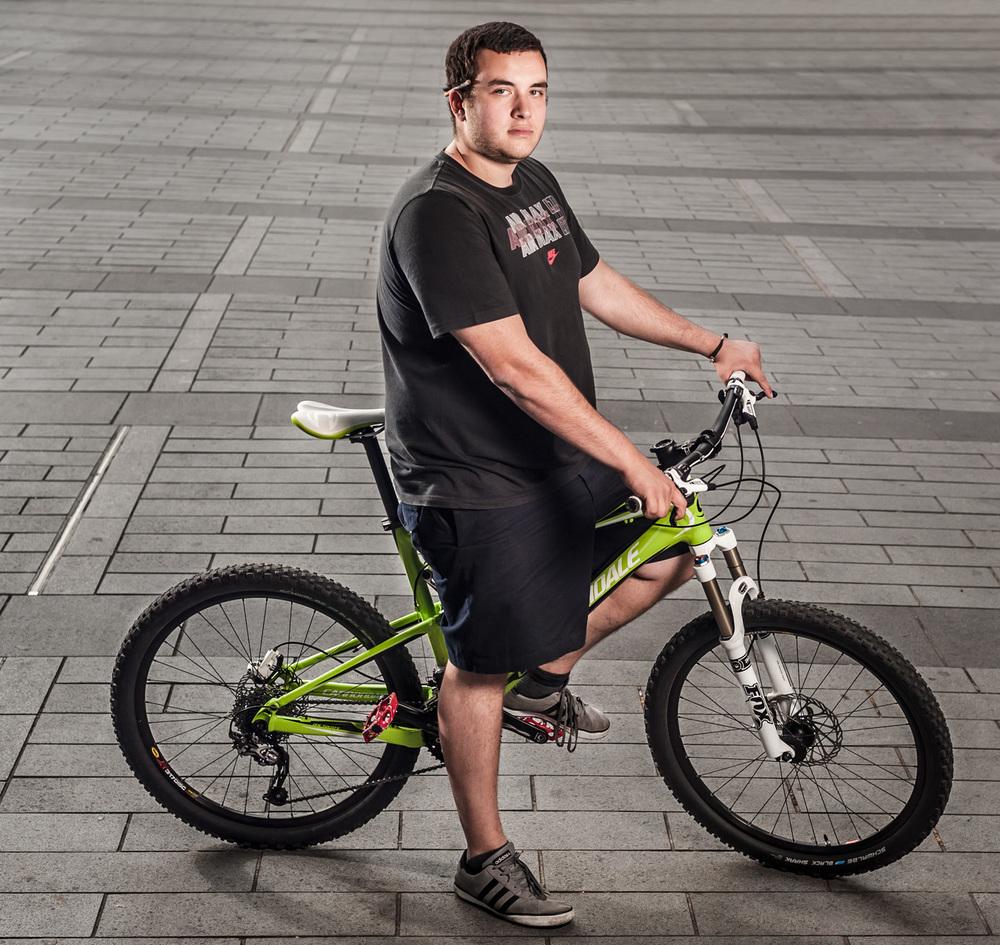 Cyclist Portraits
