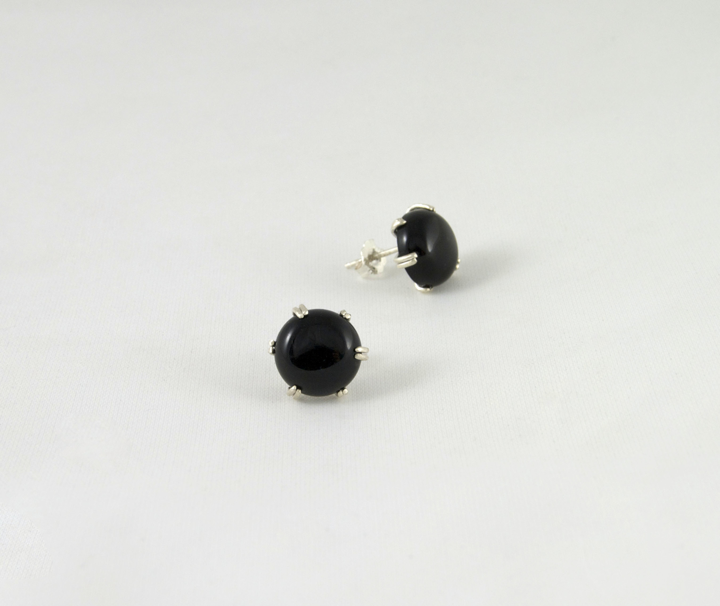 silver earrings img genie jewelry product onyx s sterling