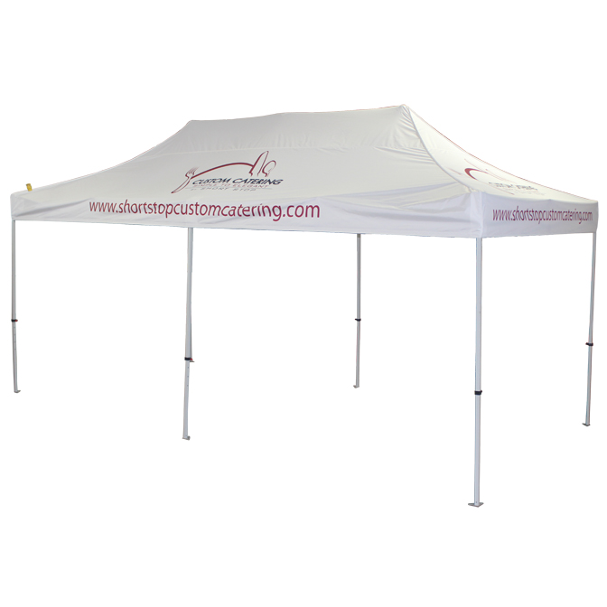 10x20 Fast Shade Custom Catering.jpg  sc 1 st  Celina Tent & Fast Shade Pop Up Canopy u2014 Celina Tent u2013 Party Tents Military ...