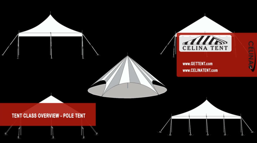 Pole Tents or tension tents are generally more cost effective for covering larger areas due to the lack of frame components; this also makes pole tents ...  sc 1 st  Celina Tent & Class Overview of Pole Tents u0026 Canopies u2014 Celina Tent u2013 Party ...