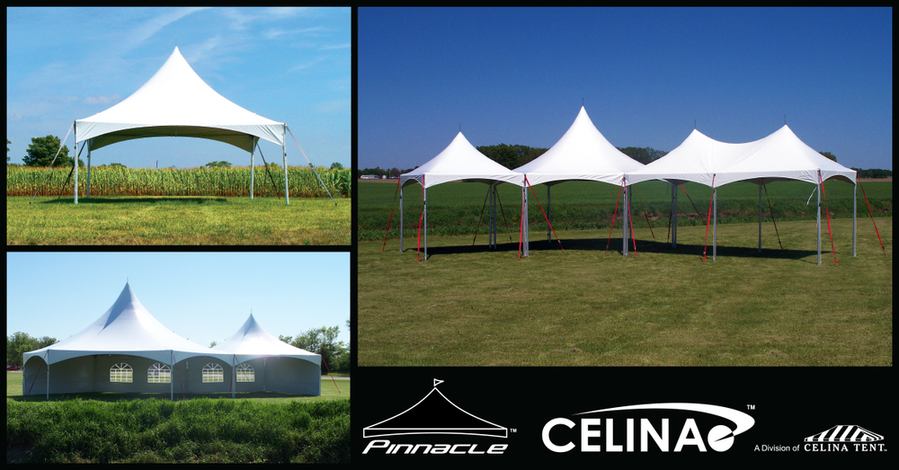 Celinau0027s Pinnacle Series Frame Tent is one of our best selling most reliable tent styles. They are commonly referred to as Marquee Tents Chinese Hat Tents ... & Pinnacle Cross Cable Marquee Event Tent u2014 Celina Tent u2013 Party ...