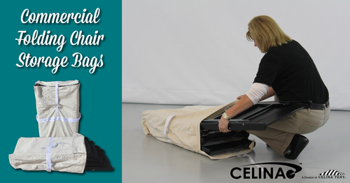 the benefits of using a commercial folding chair storage bag