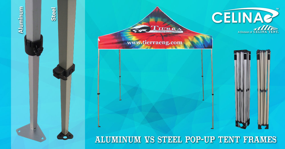 Aluminum vs Steel Pop-Up Tent Frame: Which is the better choice ...