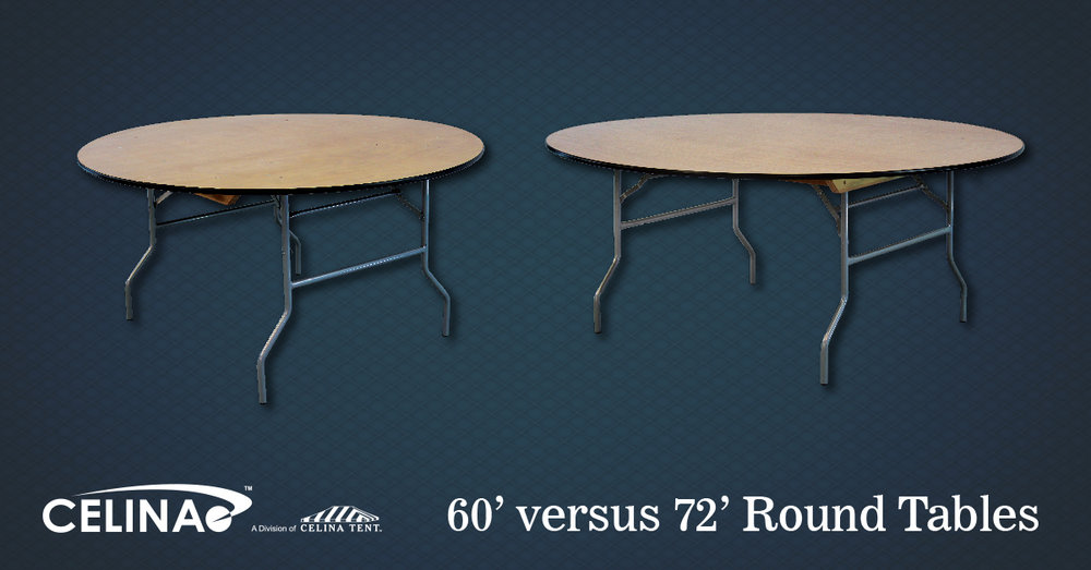 60 Versus 72 Round Tables Which Is The Better Option