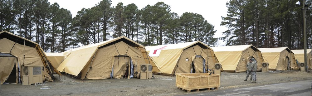 'Single Skin' Col-Pro Shelters manufactured for UTS Systems, LLC. (Ft. Walton, Florida)