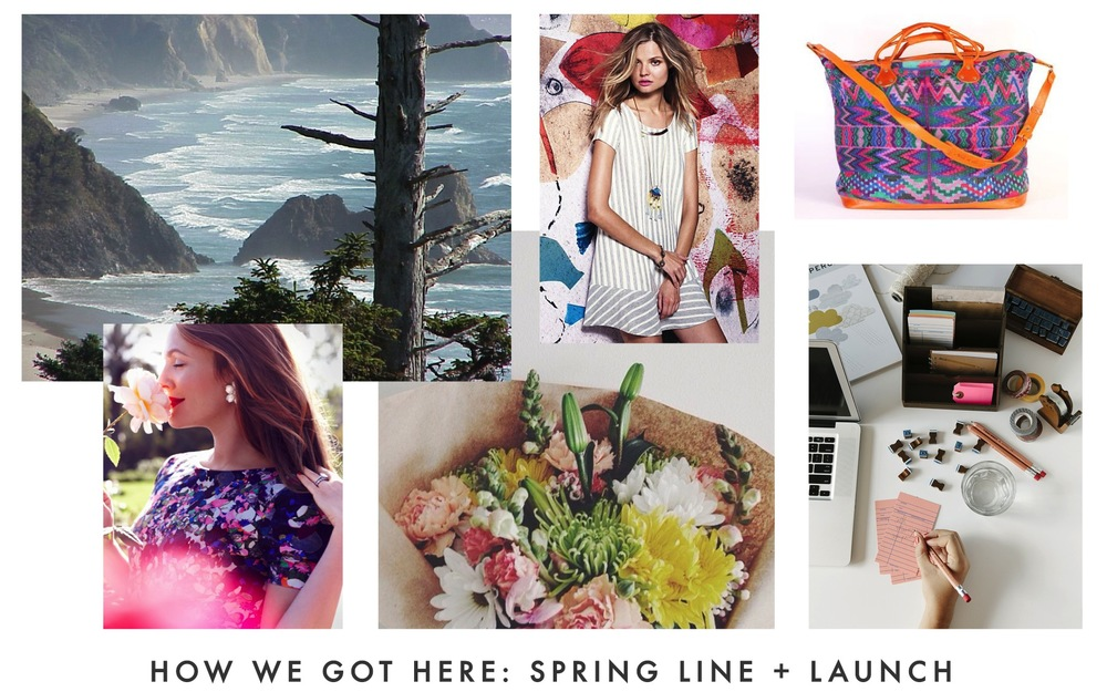 All of these images can be found on my Spring Line inspiration pinboard.