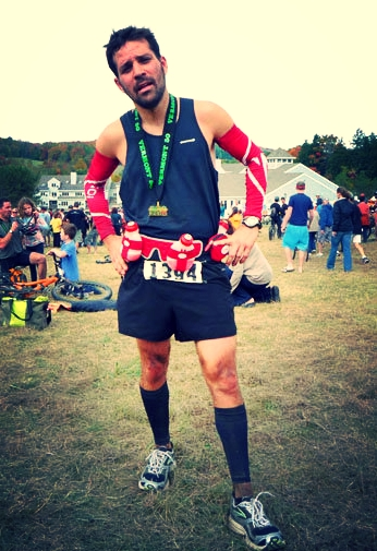 Tim at the 2010 Vermont 50K