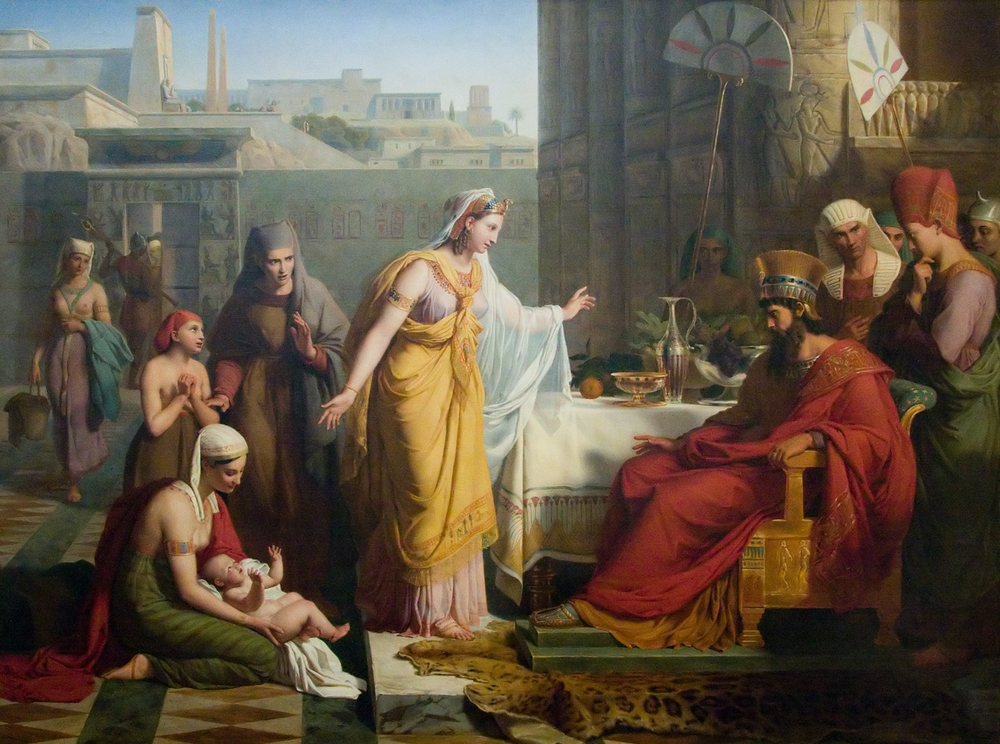 Andre Jacques Victor Orsel, The Infant Moses Presented to Pharaoh, 1830