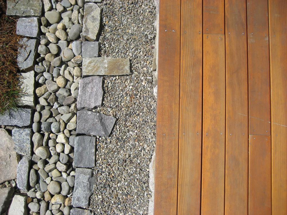 Porch drip detail