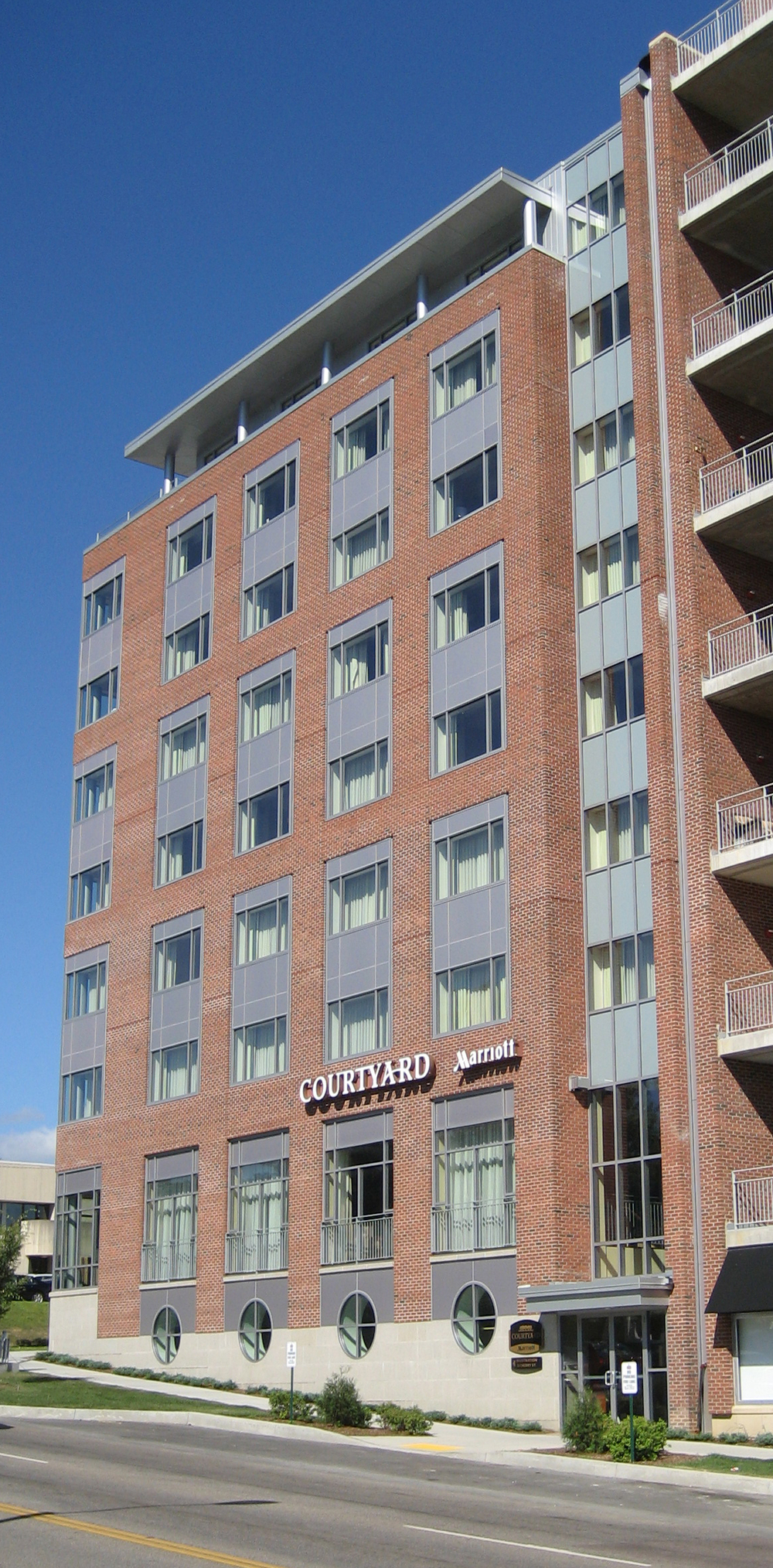 Battery Street (waterfront) façade