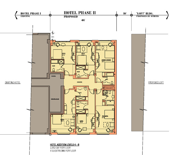 Typical Guest Floor Plan