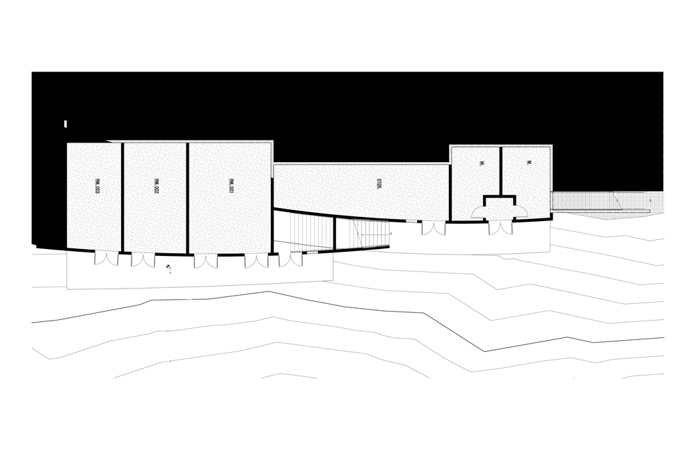 Beach Level Plan