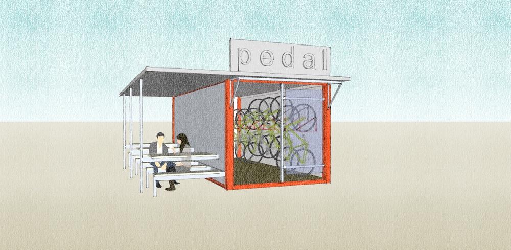 Bike Storage Container