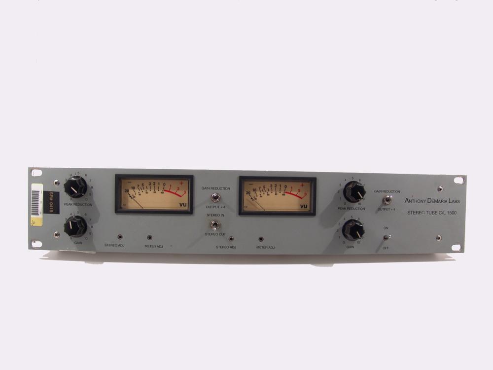 ADL 1500 Stereo Tube Comp/Limiter