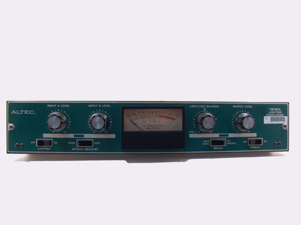 Altec Lansing 1612a Limiter Amplifier