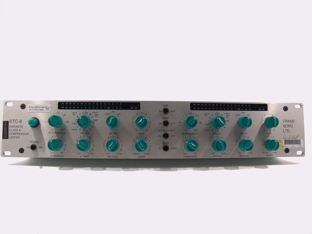 Cranesong STC-8 Stereo Compressor