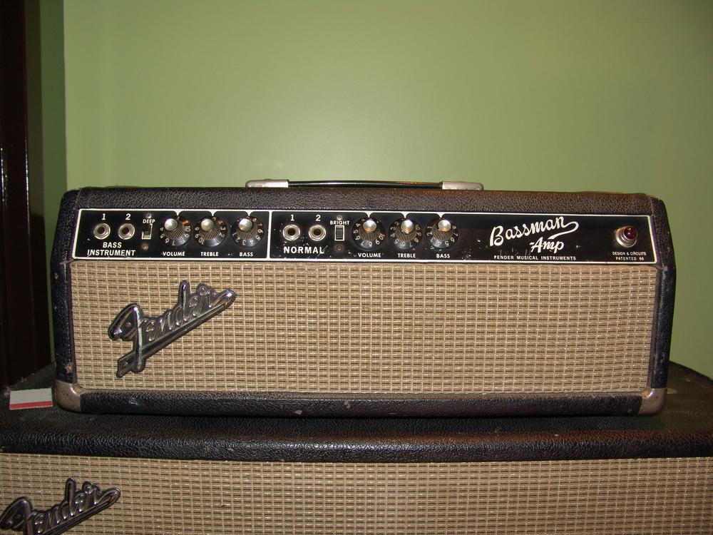 1967 Fender Bassman Head