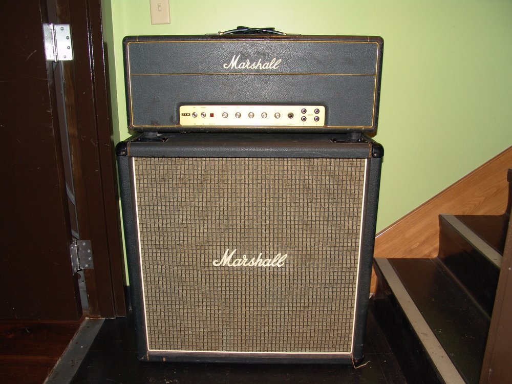 "1969 Marshall JTM ""Super Bass"""
