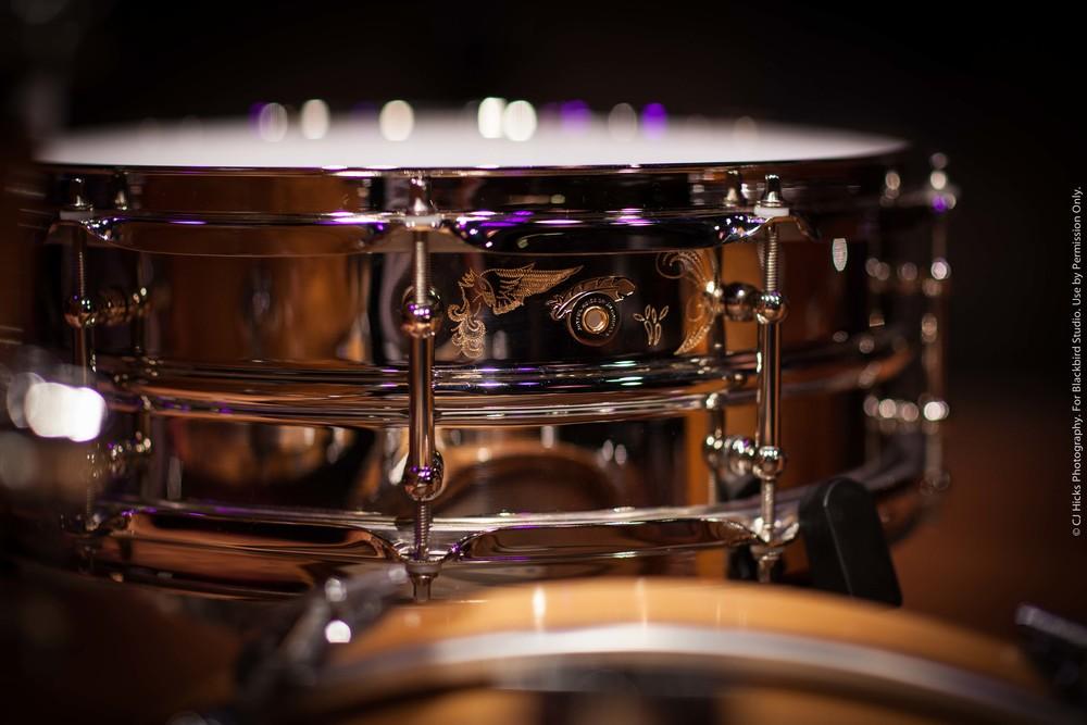 """Joyful Noise Custom """"Blackbird Studio Model"""" 5 x 14 Seamless Brass. Incredible!"""