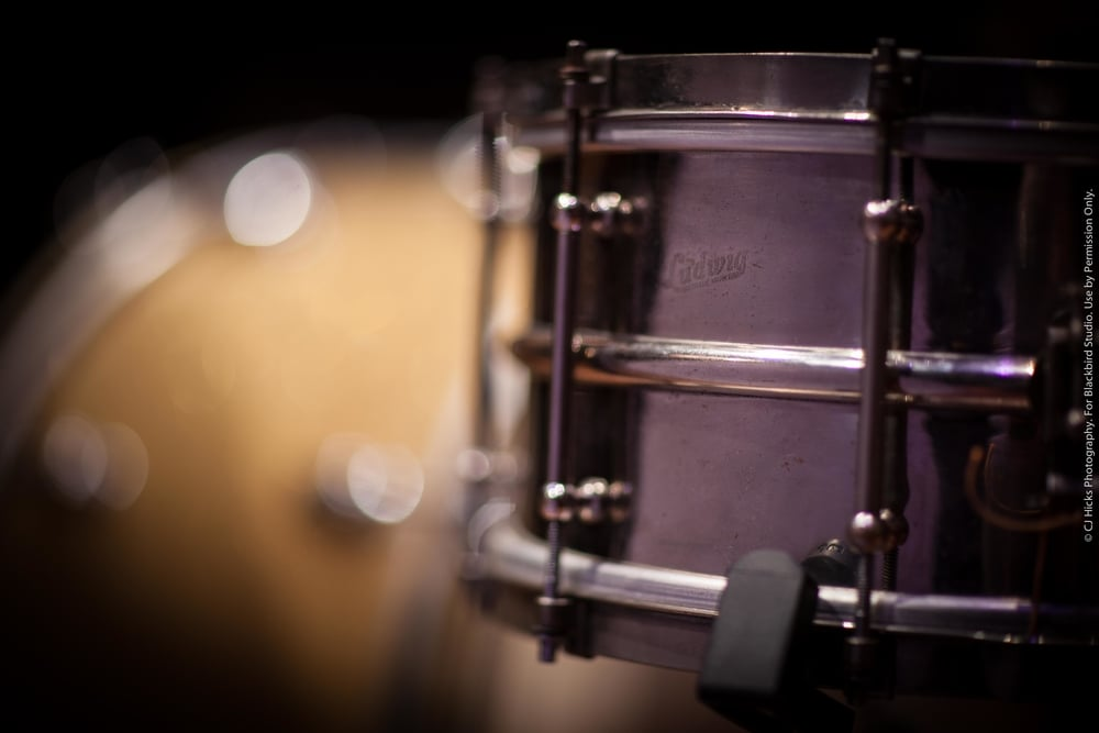 1920's 6.4 x 14 Ludwig brass snare drum. This thing sounds absolutely incredible!
