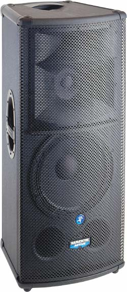 "MAckie 1530z 15"" Powered 3 way Pro Speaker - $100 day"